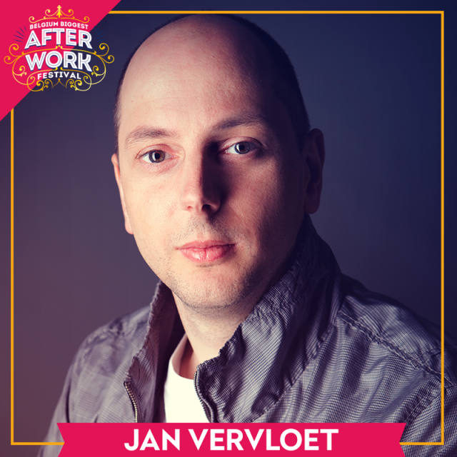 Jan Vervloet joins the party!